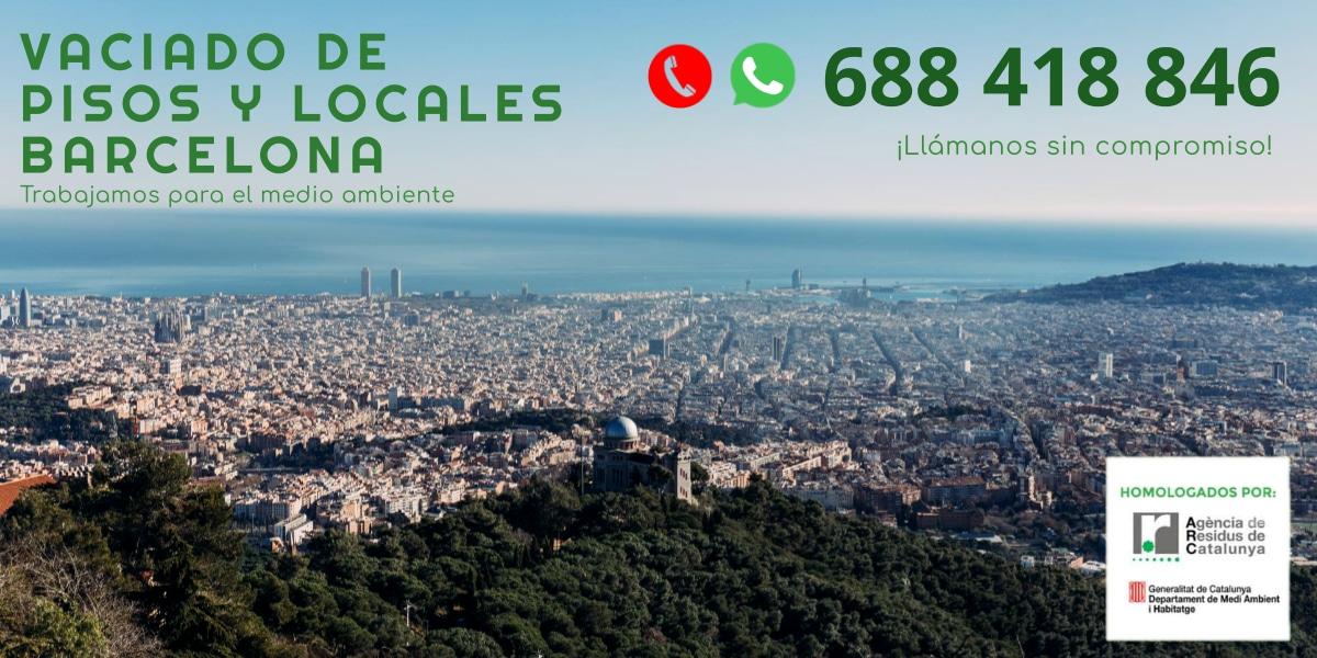 Vaciado de pisos Barcelona